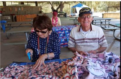 Lazy Daze Caravan Club's Charity Sew A Thon: Binky Patrol